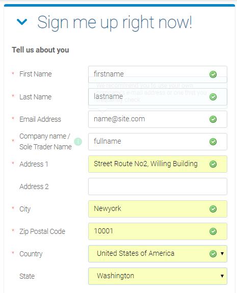 Avangate代理平台申请表格1