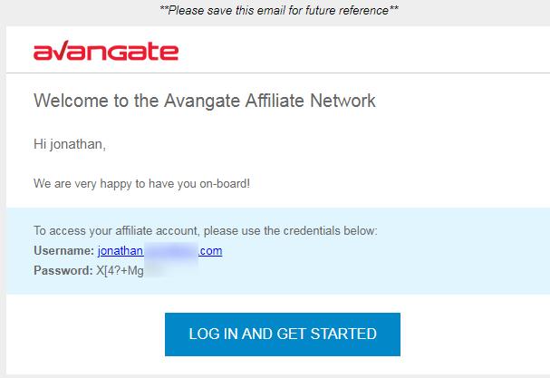 Avangate代理资格申请成功