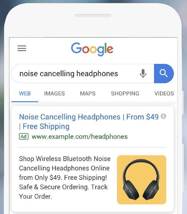 Google搜索文字广告中的动态扩展